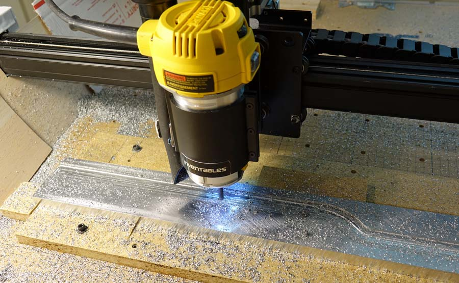 Post image for Machining MIC-6 Aluminum on the X-Carve – Fail