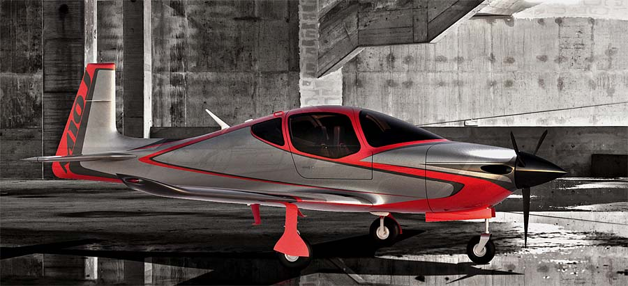Post image for Flying Sports Car