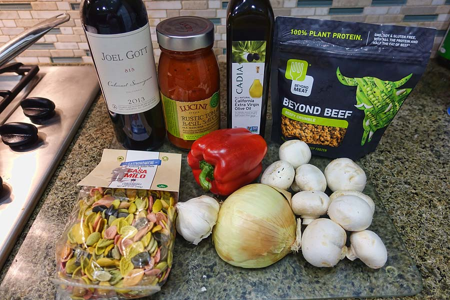 Post image for Beyond Beef – My First Attempt at Meatless Pasta – Part 1