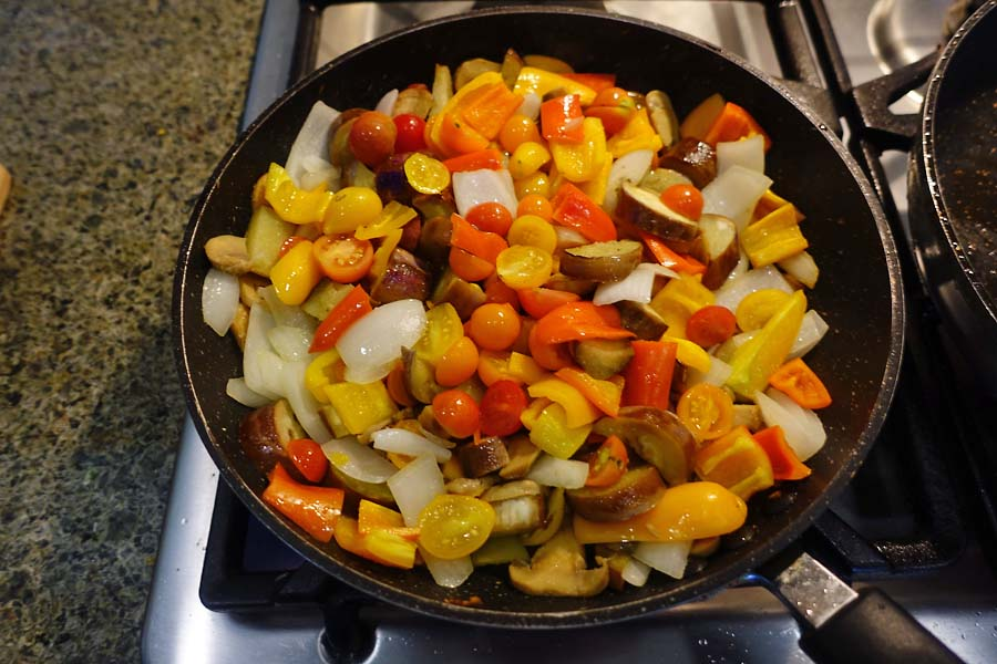 Post image for From the Garden to the Frying Pan