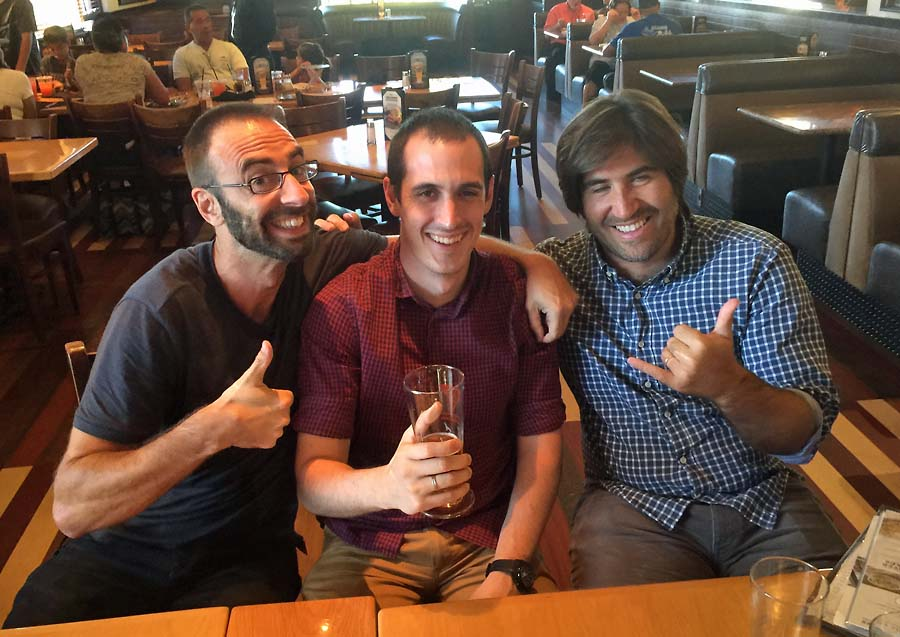 Post image for Drinks with my Tres Amigos – Sergio, Iñaki and Xabier